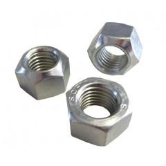 Περικόχλια Inox AISI 304, DIN 980 ασφαλείας χωρίς πλαστικό Μετρικά