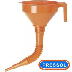 PRESSOL 02674 χωνί πλάστικό με προέκταση Φ160