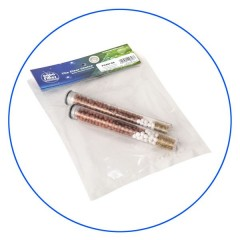 Proteas Filter EW-04-102 Διπλό ανταλλακτικό για φίλτρο ντούζ Πρωτέας