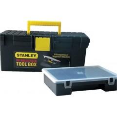 Stanley 1-94-481 Εργαλειοθηκη με Ταμπκιερα 16'' BLK/ST YELLOW