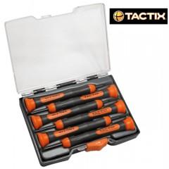 TACTIX #205791 Σετ κατσαβιδιών Ηλεκτρονικών / Ωρολογοποιηας