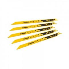Dewalt DT2417 Λάμες Σεγάτσας Διπλές 5 Τεμαχίων 152mm 14/18 TPI