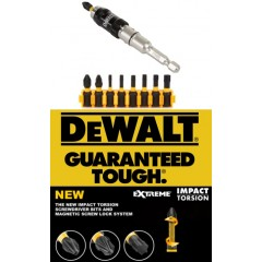 "Dewalt DT70578T Σετ Σπαστού αντάπτορ 1/4"" 10 τεμαχίων Impact Torsion Extreme"