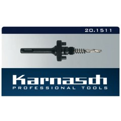Karnasch 20.1511 Adaptor για ποτηροτρύπανα SDS PLUS υποδοχής Φ32-153 χιλιοστών