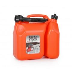 BAX KOMBI Δοχείο Καυσίμων Μίξης 6 + 2.5 λίτρων