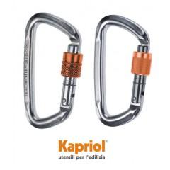 Kapriol Γάντζος Ασφαλείας σε σχήμα D 50Kn/19mm.