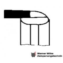 Wemer Wilke Μαχαίρι Τόρνου Εσωτερικού σχισίματος R, P30 WN 263 ISO 11