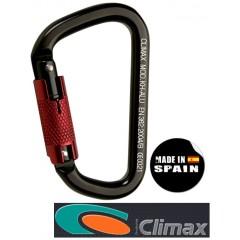 CLIMAX MOD.KH-ALU Ασύμμετρος ορειβατικός αυτόματος γάντζος αλουμινίου