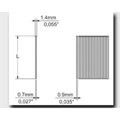 Καρφιά (Brads) σειράς M κατα OMER/Crisco ή 21 Gauge ή JA  κατά PREBENA, ή MB κατά Fasco/DUOFAST, ή SK200 κατά BeA ή και MG ή MINITIP κατά ATRO