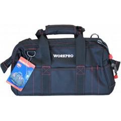 """WORKPRO W081022 Τσάντα εργαλείων 16""""(420χιλ) Σκληρού πάτου"""