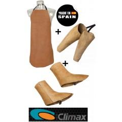 CLIMAX 8 + 9 +10 Μανίκια , Γκέτες , Ποδιά Ηλεκτροκόλλησης πακέτο