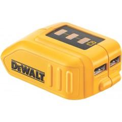 DeWalt Powerbank DCB090 Φορτιστής USB / adapter /αντάπτορας 10.8V-18V LiIon Λιθίου / Powerbank για φορητές συσκευές 4500 mAh / 15.000 mAh / 20.000 mAh [3.6 Volt]