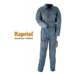 Kapriol Basic Overall φόρμα εργασίας με τιράντες.