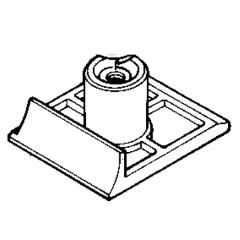 Μπροστά πλάκα πλάνης εργαλείου MAKITA 1923H - 316587-5