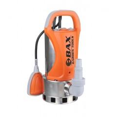 BAX B68-1100 Υποβρύχια Αντλία Ακάθαρτων Υδάτων Inox Με Εξωτερικό Φλοτέρ 1100W