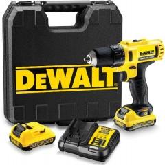 DEWALT DCD710D2 10.8V Επαναφορτιζόμενο Δράπανο Ιόντων Λιθίου με 2Χ2.0Ah μπαταρίες