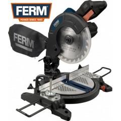 FERM MSM1037 Φαλτσοπρίονο 1300 Watt 210mm, 4500 στροφές λεπτό