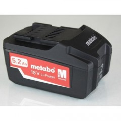 Metabo Li-Power 18V 5.2Ah Μπαταρία Λιθίου [6.25592.00]