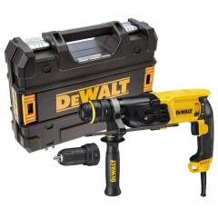 DeWALT D25134K Πνευματικό Δράπανο 800W με δεύτερο αυτόματο τσόκ