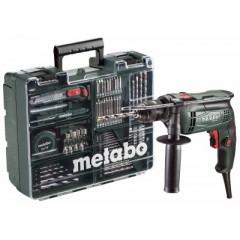 Metabo SBE 650 Set [6.00671.87] Ηλεκτρικό Κρουστικό Δράπανο 650 Watt - Κινητό Συνεργείο