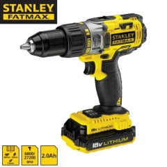 STANLEY FMC625D2 Δραπανοκατσάβιδο Ιόντων Λιθίου 2 Μπαταρίες 18V 2.0Ah