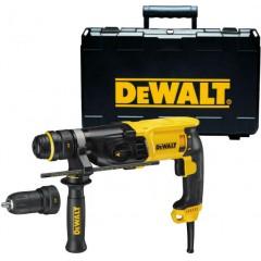 DeWALT D25144K Πνευματικό Δράπανο 900W με δεύτερο αυτόματο τσόκ