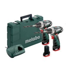 Metabo Combo Set BS & BS Li-Power (3x2.0Ah) Δραπανοκατσάβιδα 10.8V [6.85093.00]