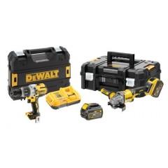 Dewalt DCK2055T2T Σετ Εργαλειων Brushless DCD996 + DCG414