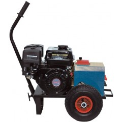 Ηλεκτρογεννήτρια για 3 ελαιοραβδιστικά 12V 55A με δυνατότητα προσαρμογής ψεκαστικής αντλίας με κινητήρα HONDA Ιαπωνίας
