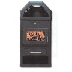 Ξυλόσομπα Διόνυσος με boiler