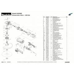 Ανάλυση εργαλείου MAKITA GA9050R
