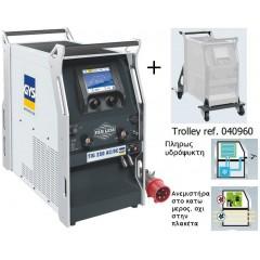 Ηλεκτροκόλληση Παλμική GYS TIG 250 AC/DC TRI HF με αξεσουάρ [035430] Υδρόψυκτη πλήρως