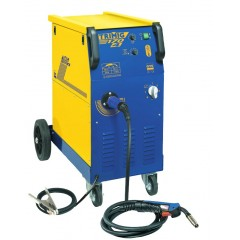 Ηλεκτροκόλληση σύρματος MIG GYS TriMig 170-4 (με αέριο ή με επενδυμένο σύρμα χωρίς αέριο) AC