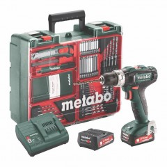 Metabo PowerMaxx SB 12 Set Κρουστικό Δραπανοκατσάβιδο Μπαταρίας 12V [max] [10.8V nominal] 6.01076.87