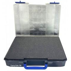 RAACO CL80-FOA Carry-Lite 80 Εργαλειοθήκη ταμπακιερα με διαφανές καπάκι και εσωτερικό αφρό