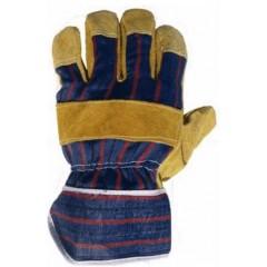 Γάντια Εργασίας Δερματοπάνινα απλά 50792392