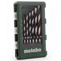 Metabo 6.26705 Σετ τρυπανιών ξύλου με ακίδα 8 τεμαχίων
