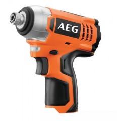 "AEG BSS 12C 1/4"" Μπουλονόκλειδο LiIon 12Volt Ζυγισμένο μικρό ελαφρύ χωρίς μπαταρίες, χωρίς φορτιστή ,χωρίς βαλίτσα"
