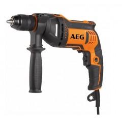 AEG SBE 750 RE Κρουστικό Δράπανο με ρυθμιζόμενη ταχύτητα