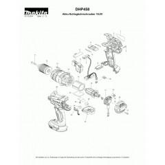 Ανάλυση εργαλείου MAKITA DHP458