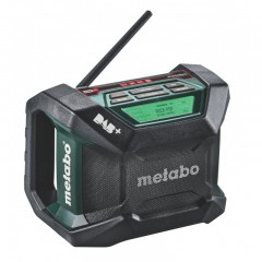 Metabo 6.00778.85 R 12-18 DAB+ BT Εργοταξιακό Ραδιόφωνο Μπαταρίας 18 Volt