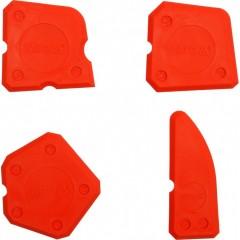 ΥΑΤΟ ΥΤ-5261 Σετ 4  πλαστικές σπάτουλες σιλικόνης