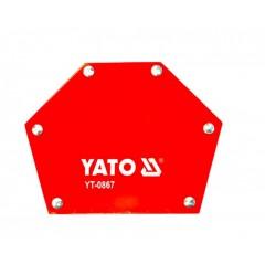 YATO YT-0867 Μεσαία Μαγνητική πολύ γωνία Δύναμης 34 κιλών