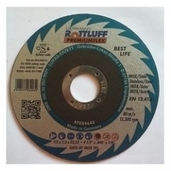 ROTTLUFF PremiumFlex A24-30S Δίσκος κοπής INOX ίσιος πάχους 2mm