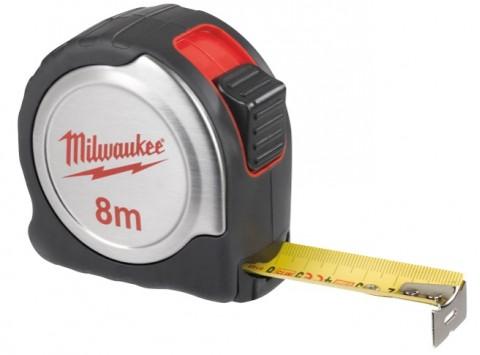 Milwaukee 4932451640 Μετροταινία 8 μέτρα με ABS/ΙΝΟΧ Σώμα