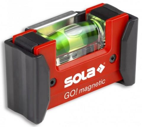 SOLA GO! Magnetic Clip Μινι Μαγνητικό Αλφάδι με κλίπ ζώνης